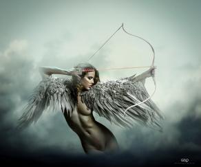 Photocreation:Gonzalo Villar -Model:Kristina Yakimova-Photo of model:Mijail Grafik