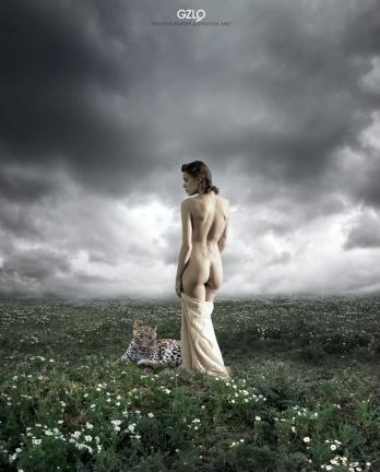 Model: Chucha - Photo model: Grigory Ivashchenko - Art Work: Gonzalo Villar