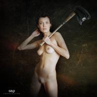 Photocreation: Gonzalo Villar - Model: Chucha - Photo of model: Alexei Fomin