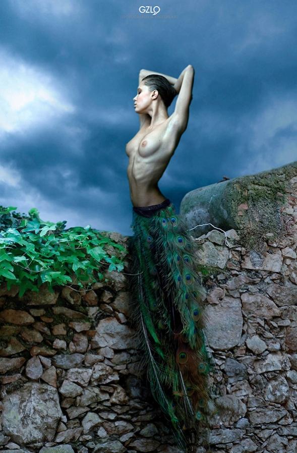 Art Work: Gonzalo Villar - Model: Chucha - Photo model: Dmitry Ardnautov