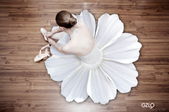 Flower Dance: 30cm x 20cm: Art Work: Gonzalo Villar - Photo: David Liepelt
