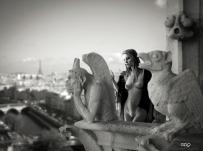 Art Work: Gonzalo Villar - Photo: Irina Mishchenko - Model: Oleechka Fioletto