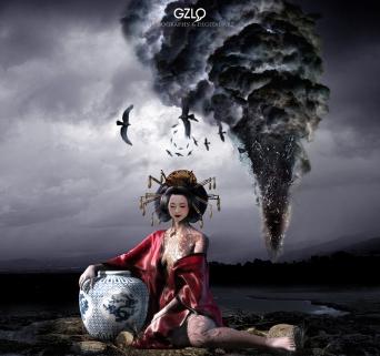 Ref: GZLo – 196. GEISHA 2011: 14cm x 14cm - Art Work: Gonzalo Villar