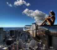 Art Work: Gonzalo Villar - Model: Chucha - Photo Model: Aleksandr Sergeevich