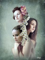 Art Work: Gonzalo Villar - Photos: Natalia Melnikova, Nata Muzhetskaya, Igor Semushin - Model: Kristina Yakimova