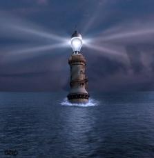 lighthouse by Gonzalo Villar