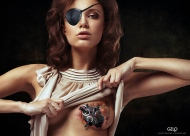 Art Work: Gonzalo Villar - Model: Chucha - Photo Model: Arkady Kozlovsky