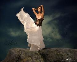 Art Work: Gonzalo Villar - Photo of model: Vladimir Kalinin - Model : Chucha