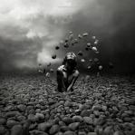 Art Work: Gonzalo Villar - Model: Chucha Babuchina - Photo of model: Pavel Vinogradov