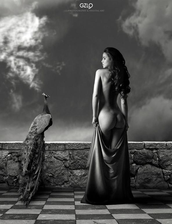 Model: Kristina Yakimova Photo model: Oxana Oleynichenko Art Work: Gonzalo Villar