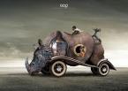 Rhinocerator: 22cm x 16cm - Art Work: Gonzalo Villar