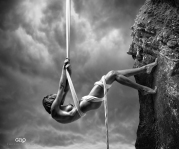 Photocreation: Gonzalo Villar - Model:Oksana Chucha Babuchina - Photo of model: A+A