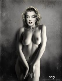 Marylin Monroe Tribute by Gonzalo Villar