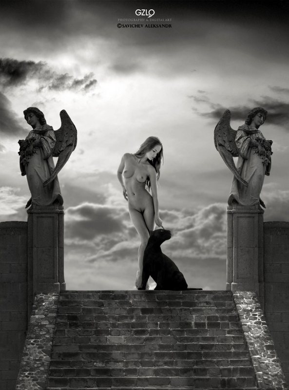 Photocreation: Gonzalo Villar - Model: Kristina Yakimova  - Photo model: Alexandr Savichev -