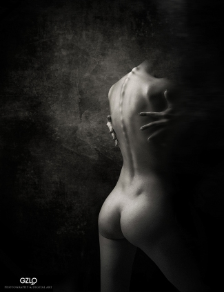 Art Work: Gonzalo Villar - Photo of Model: Alexander Talyuka - Model: Natalya Grigoryeva