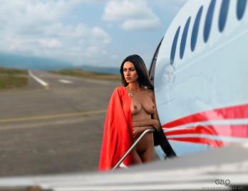 Photocreation: Gonzalo Villar - Model: Olga Alberti - Photo of Model: Arkadi Kozlovski