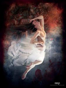 Model: Kristina Yakimova Photo model: Maksim Chuprin Art Work: Gonzalo Villar