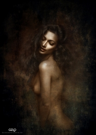 Art Work: Gonzalo Villar - Photo Model: Alexander Talyuka - Model: Naya Mamedova