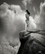 Model: Ekaterina Vladi - Photo of Model: Vladimir Lapshin - Art work: Gonzalo Villar