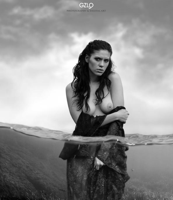Art Work: Gonzalo Villar - Model: Anna Averina - Photo of model: Sergei Dubilier