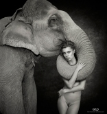 Model: Chucha - Photo: Ivan Warhammer - Art Work: Gonzalo Villar