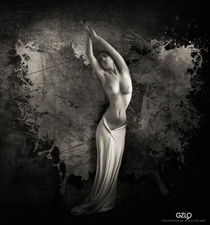 Art Work: Gonzalo Villar - Model:Lidia Savoderova - Photo Model: Karen Abramyan