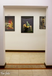 Sala de Max Sauco, artista principal de mi exposición - Photo: Fernando Martí