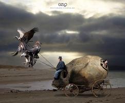 Ref: GZLo – 601. Car Lavera: 70cm x 50cm - Art Work: Gonzalo Villar