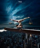 Ref: GZLo – 600. Justice: 50cm x 70cm - Art Work: Gonzalo Villar
