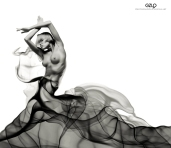 Ref: GZLo - 903. Vaporous: 19cm x 16cm – Art Work: Gonzalo Villar - Model: Chucha – Photo model: Pavel Vinogradov
