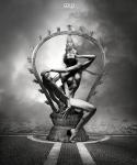 Shiva: 50cm x 70cm - Art Work: Gonzalo Villar - Photo of model: Pavel Vinogradov - Model: Chucha Babuchina