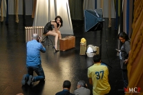 Nude Light Master Class by Lada Brik - Teatro escalante ( Valencia ) - Photo Manuel Torres