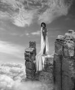 Photocreation: Gonzalo Villar - Model: Olga Alberti - Photo of model: Ivan Warhammer