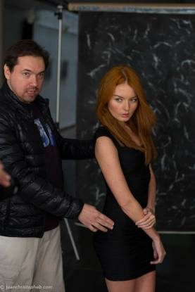 Stanislav Puchkovsky with Nicole Stefan Photo: Jean Christophe B Photos Sean Archer Master Class
