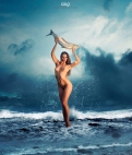 Photocreation: Gonzalo Villar - Model: Ekaterina Vladi - Photo of model: Gene Oryx